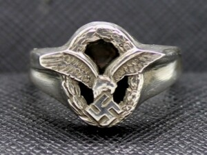 German ring WW2 Luftwaffe Observers