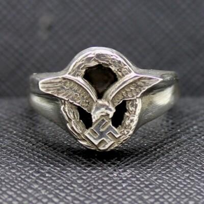 German ring WW2 Luftwaffe Observers