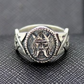 German ss viking silver ring