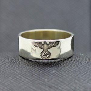German ss ring eagle swastika for sale
