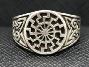 German ring black sun Schwarze Sonne