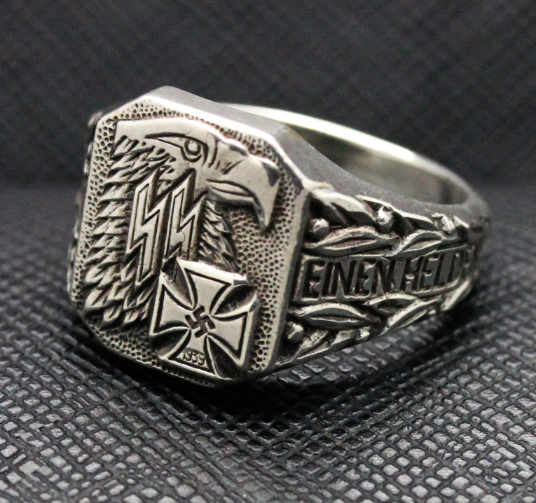 German Ww Iron Cross Ring