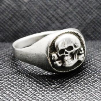 SS totenkopf ring german nazi ring skull