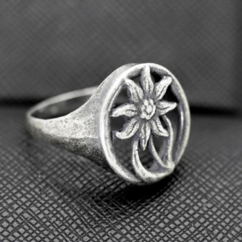 German ring edelweiss alpen division military