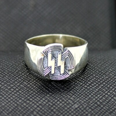 WW2 German ss SPORTS BADGE silver ring