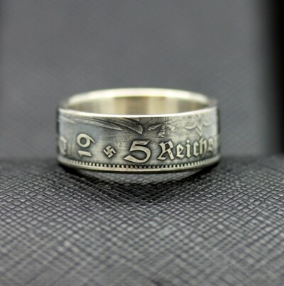 German coin ring 1935 year 5 reichsmark