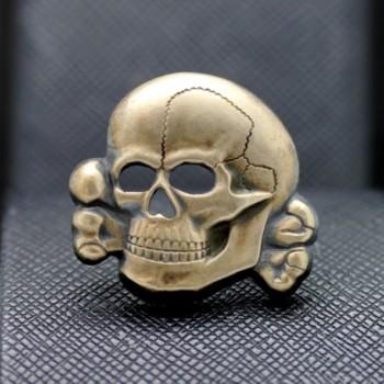 German WW2 Skull from SS cap Silver