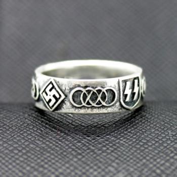 German ww2 rings ss olympic symbol