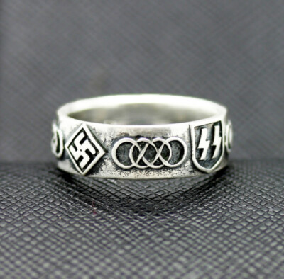 German ww2 rings ss olympic symbol