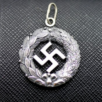 German ss nazi swastika pendant for sale