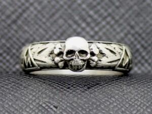 SS Honor TOTENKOPF Ring waffen ss runas skull 2