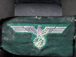 GERMAN WW2 NAZI ARMY (WEHRMACHT)BREAST EAGLE IN BEVO WEAVE