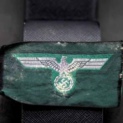 GERMAN WW2 NAZI ARMY (WEHRMACHT)BREAST EAGLE IN BEVO WEAVE