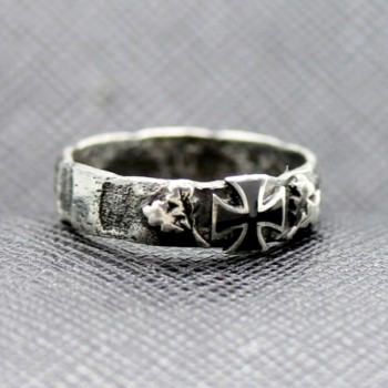 German rings Iron Cross Silver