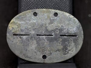 GERMAN WW2 DOG TAG / IDENTITY DISC