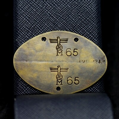 German WW2 Kriegsmarine dog tag / identity disc