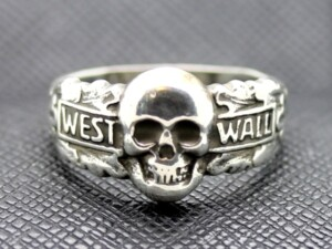 German ring totenkopf west wall