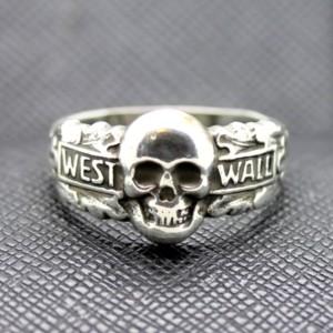 German ring totenkopf west wall