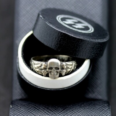 German Elite Totenkopf Ring Box