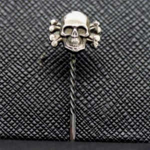 Sterling Silver Black Corps SS Stickpin