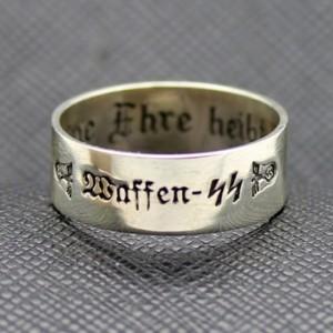 Waffen SS Sterling German RING