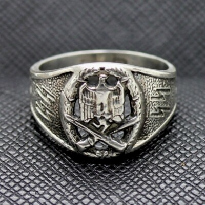 GERMAN SS GENERAL ASSAULT BADGE RING