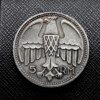 German Adolf Hitler 5 RM Coin or Medal 1935