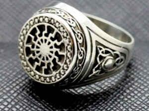 BLACK SUN SCHWARZE SONNE GERMAN RING