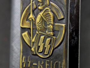 GERMAN WW2 PROPAGANDA MATCHBOX HOLDER