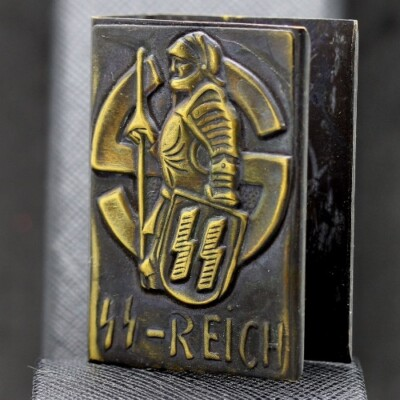 GERMAN WW2 PROPAGANDA MATCHBOX HOLDER
