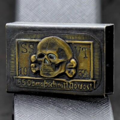 German SS-Totenkopf machbox holder