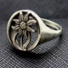 Edelweiss Alpen division military ring