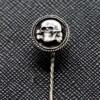 Death Skull Sterling Silver Pin