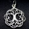 Occult Tree of Life Silver Pendant
