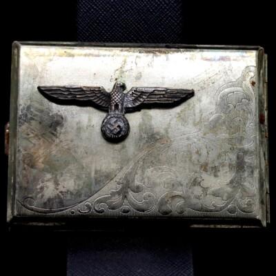 GERMAN SS HONOR EAGLE CIGARETTE CASE