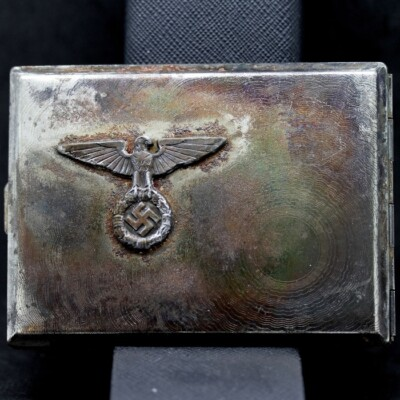 GERMAN SS EAGLE CIGARETTE CASE