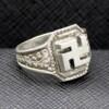 German silver ring
