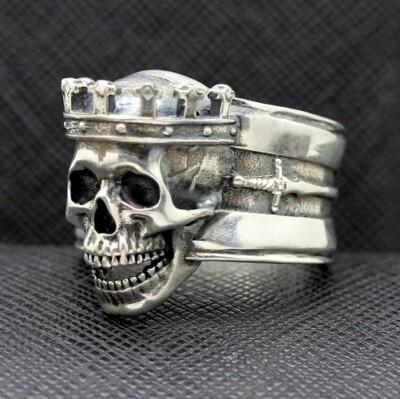 Death Skull King ring