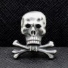 German Totenkopf Skull PIN