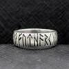 Nordic Rune Amulet Ring