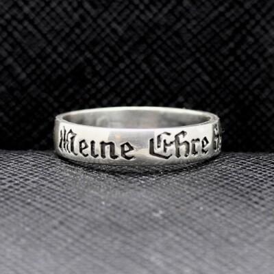 German ring Meine ehre heißt treue